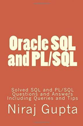 Oracle SQL and PL/SQL