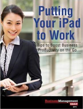 Putting Your iPad to Work
