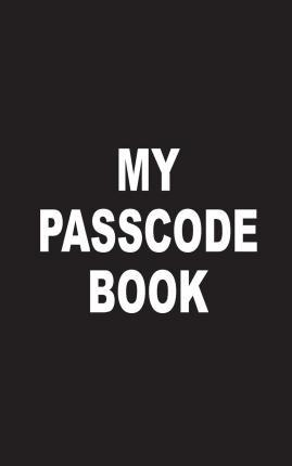 My Passcode Book