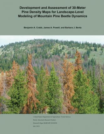 Development and Assessment of 30-Meter Pine Density Maps for Landscape-Level Modeling of Mountain Pine Beetle Dynamics