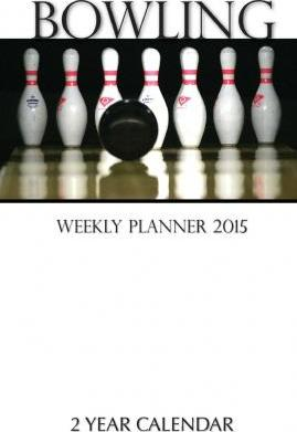 Bowling Weekly Planner 2015