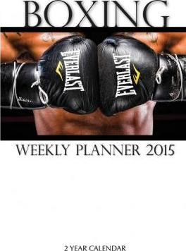 Boxing Weekly Planner 2015