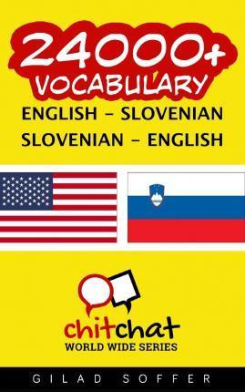 24000+ English - Slovenian Slovenian - English Vocabulary