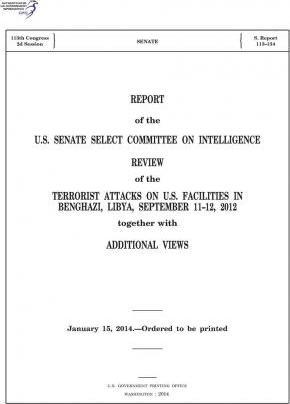 Report of the U.S. Senate Select Committee on Intelligence