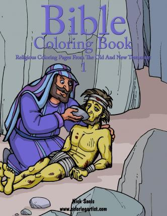 Bible Coloring Book 1 - Religious Coloring Pages from the Old and New Testament