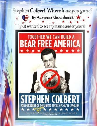 Stephen Colbert, Where Have You Gone?