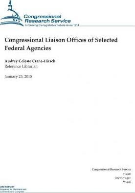 Congressional Liaison Offices of Selected Federal Agencies