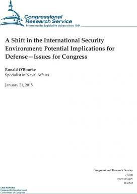 A Shift in the International Security Environment