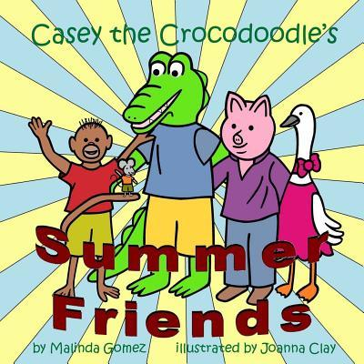 Casey the Crocodoodle's Summer Friends