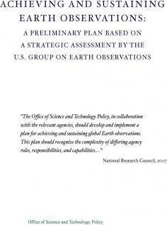 Achieving and Sustaining Earth Observations