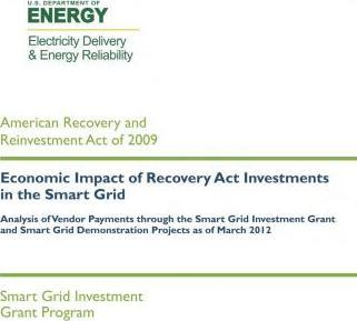 Economic Impact of Recovery ACT Investments in the Smart Grid