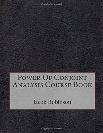 Power of Conjoint Analysis Course Book