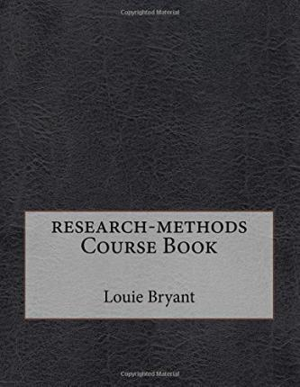 Research-Methods Course Book