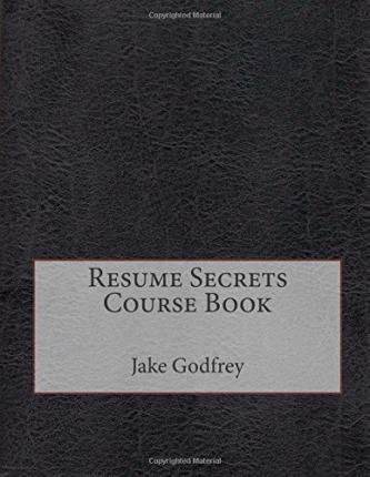 Resume Secrets Course Book