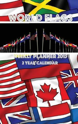 World Flags Weekly Planner 2015