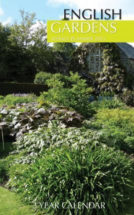 English Gardens Weekly Planner 2015