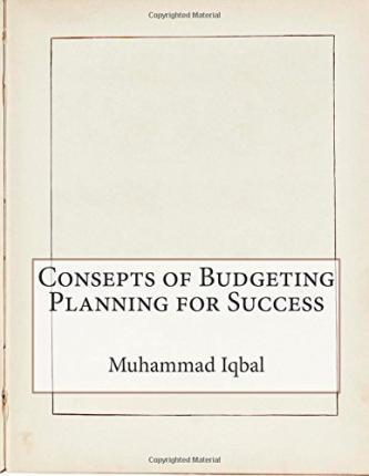 Consepts of Budgeting Planning for Success