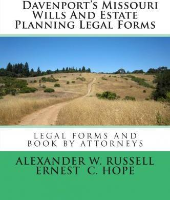Davenport's Missouri Wills and Estate Planning Legal Forms