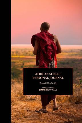 African Sunset Personal Journal