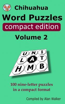 Chihuahua Word Puzzles Compact Edition Volume 2