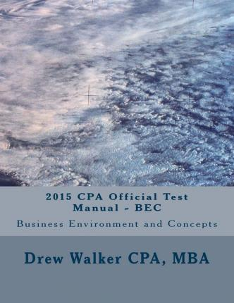 2015 CPA Official Test Manual - Bec