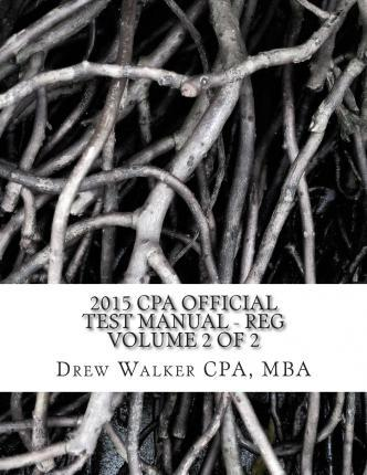 2015 CPA Official Test Manual - Reg