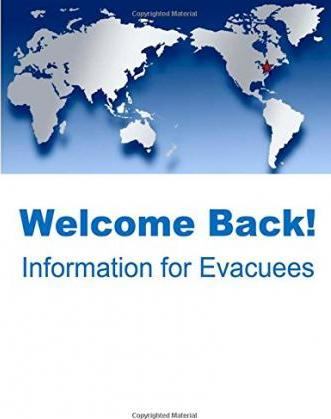 Welcome Back! Information for Evacuees