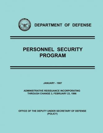 Department of Defense Personnel Security Program