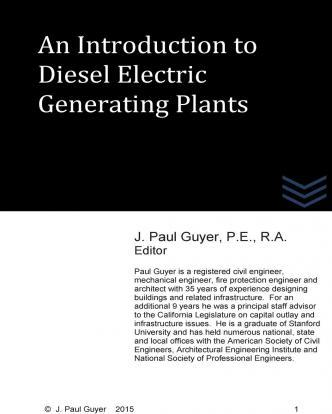 An Introduction to Diesel Electric Generating Plants
