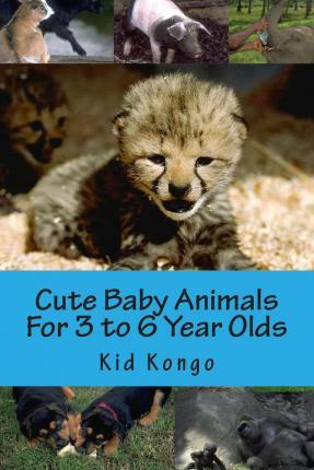 Cute Baby Animals for 3 to 6 Year Olds