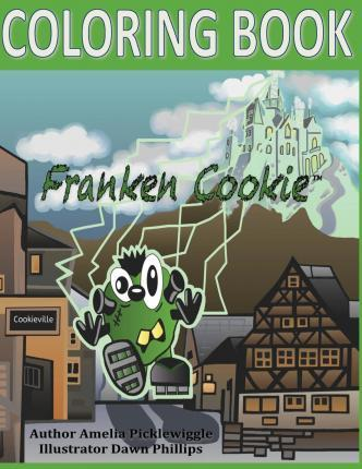 The Franken Cookie Coloring Book