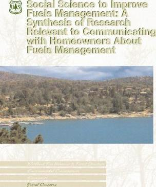 Social Science to Improve Fuels Management