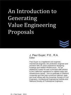 An Introduction to Generating Value Engineering Proposals