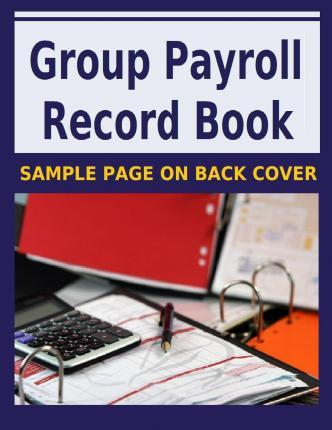 Group Payroll Record Book