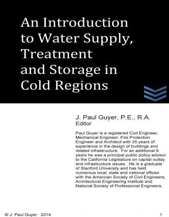 An Introduction to Water Supply, Treatment and Storage in Cold Regions