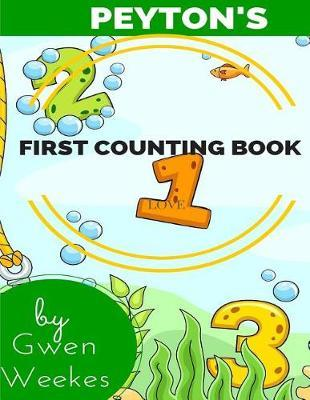 Peyton's First Counting Book