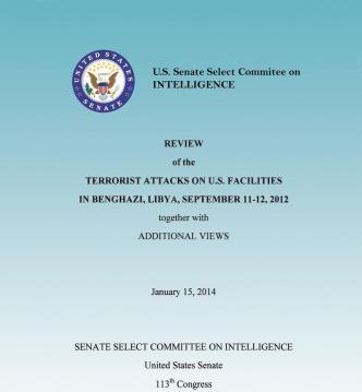 Review of the Terrorist Attacks on the U.S. Facilities in Benghazi, Libya, September 11-12, 2012 Together with Additional Views