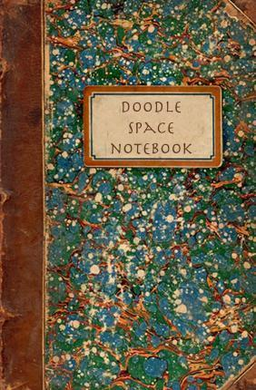 Doodle Space Notebook