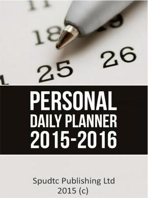 Personal Daily Planner 2015-2016