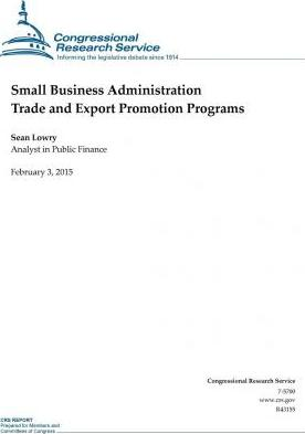 Small Business Administration Trade and Export Promotion Programs