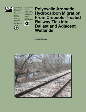 Polycyclic Aromatic Hydrocarbon Migration from Creosote-Treated Railway Ties Into Ballast and Adjacent Wetlands