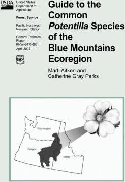 Guide to the Common Potentilla Species of the Blue Mountains Ecoregion