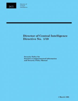 Director of Central Intelligence Directive No. 1/19