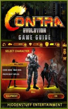 Contra Evolution Game Guide