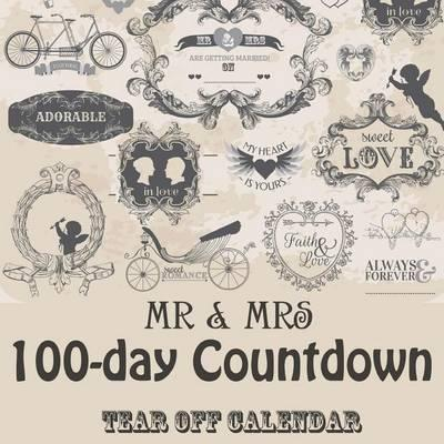 MR & Mrs 100 Day Tear-Off Countdown Calendar