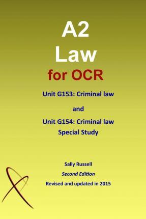 A2 Law for OCR Unit G153