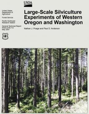 Large-Scale Silvicultural Experiments of Western Oregon and Washington