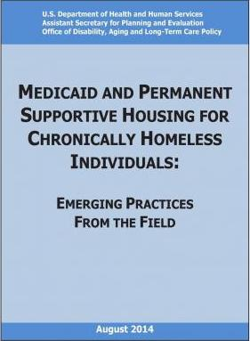 Medicaid and Permanent Supportive Housing for Chronically Homeless Individuals