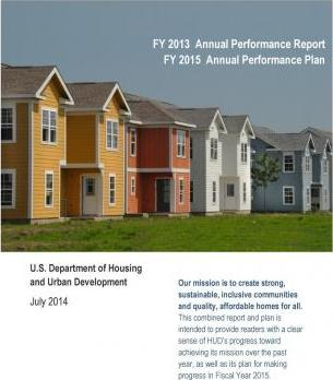 Fy 2013 Annual Performance Report Fy 2015 Annual Performance Plan