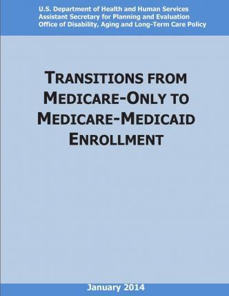 Transition from Medicare-Only Coverage to Medicare-Medicaid Enrollment (Color)